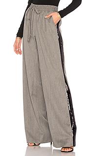 Спортивные брюки с блестками gabardine - MILLY