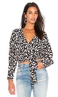 Блузка с запахом - Diane von Furstenberg