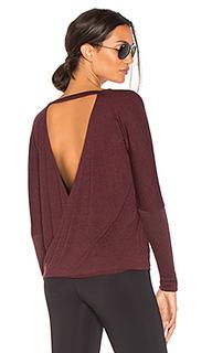 Драпированный пуловер с v-вырезом - onzie