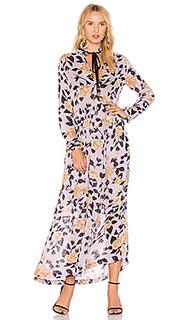Макси платье carlton - Ganni