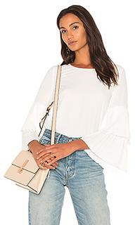 Блуза с плиссированными рукавами - 1. STATE