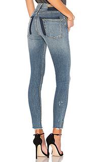 Супер узкие стрейчевые джинсы с высокой талией kendall - GRLFRND