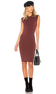 Платье с коротким рукавом obi - LA Made