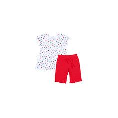 Комплект: футболка и шорты PlayToday для девочки