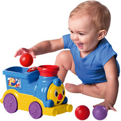RU Весёлый паровозик с мячиками Bright Starts Kids II