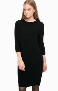 Черное платье средней длины Drykorn
