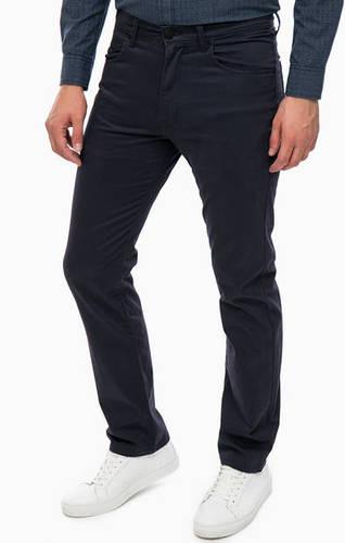 Синие хлопковые брюки