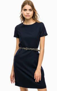 Приталенное платье из шерсти Barbour