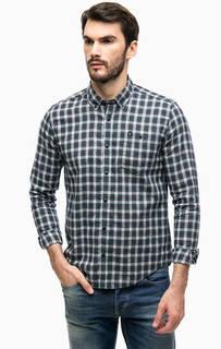 Рубашка в клетку с нагрудным карманом Barbour