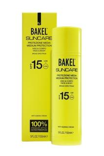 Крем солнцезащитный антивозрастной для лица и тела SPF15, 150 ml Bakel