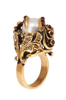 Кольцо с жемчужиной Maurizio Mori