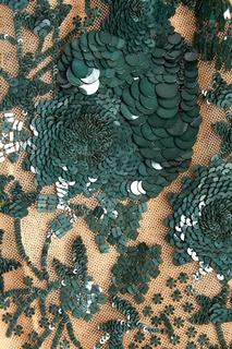 Платье с пайетками No.21