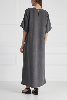 Платье из хлопка и льна Cyrille Gassiline Base