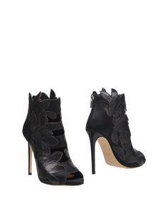 Полусапоги и высокие ботинки Pinko Black