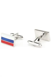 Запонки флаг России Churchill accessories