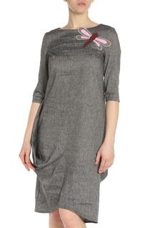 Платье с аппликацией Adzhedo