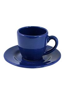 """Чашка мокко с блюдцем """"Blue"""" Waechtersbacher"""