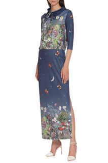 Платье макси Adzhedo