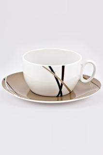 Чашка 390 мл с блюдцем 18 см Royal Porcelain Co