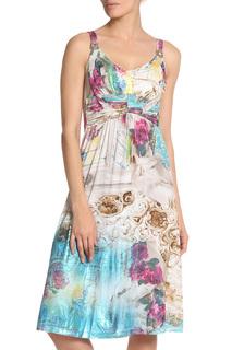 Платье свободного силуэта приталенное Elisa Cavaletti