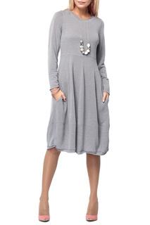 Стильное платье просторного силуэта с карманами Kata Binska