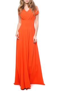 Вечернее платье в пол с коротким рукавом MARICHUELL