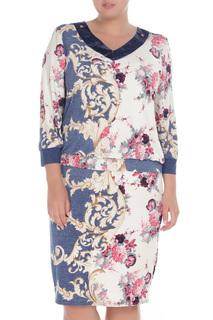 Элегантное платье с V-образным вырезом Glamour