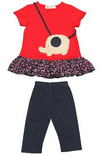 Комплект: платье, бриджи Kidly
