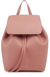 Кожаный рюкзак с клапаном  Mini Backpack Mansur Gavriel