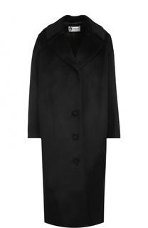 Шерстяное пальто прямого кроя Lanvin