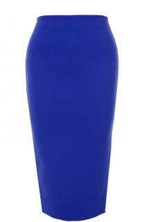 Юбка-карандаш с декоративной молнией Victoria Beckham