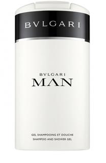 Шампунь и гель для душа Bvlgari Man BVLGARI