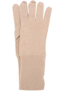 Кашемировые вязаные перчатки Allude