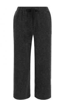 Укороченные шерстяные брюки с карманами Deha