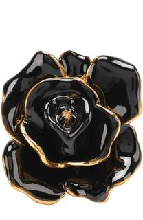 Кольцо в виде цветка Oscar de la Renta