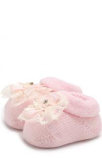 Вязаные носки с декором Catya