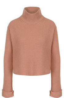 Кашемировый свитер фактурной вязки Forte_forte