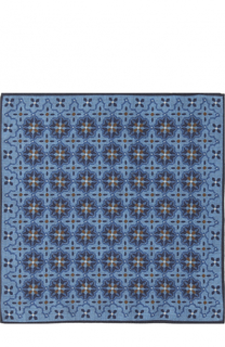 Шерстяной платок с узором Ermenegildo Zegna