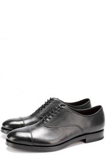 Классические кожаные оксфорды H`D`S`N Baracco