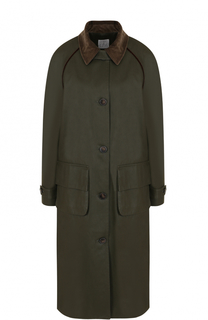 Хлопковое пальто свободного кроя Stella Jean