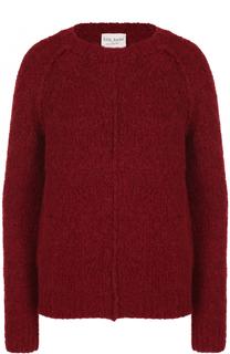 Шерстяной пуловер с круглым вырезом Forte_forte