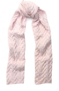Вязаный кашемировый шарф Kashja` Cashmere