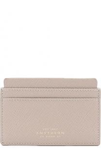 Кожаный футляр для кредитных карт Smythson
