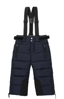 Стеганые пуховые брюки с подтяжками Dolce & Gabbana