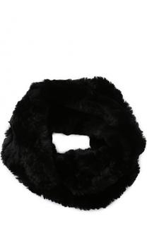 Шарф-снуд из меха кролика Yves Salomon