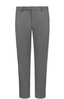 Шерстяные брюки прямого кроя Baldessarini