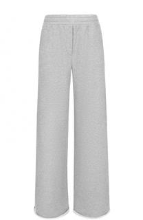 Расклешенный хлопковые брюки T by Alexander Wang
