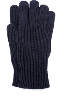 Шерстяные вязаные перчатки Moncler
