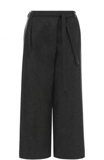 Укороченные кашемировые брюки с поясом Loro Piana