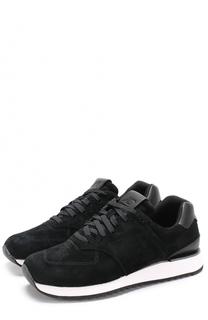 Замшевые кроссовки 745 на шнуровке New Balance